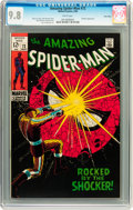 Silver Age (1956-1969):Superhero, The Amazing Spider-Man #72 Twin Cities pedigree (Marvel, 1969) CGCNM/MT 9.8 White pages....