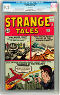 Silver Age (1956-1969):Superhero, Strange Tales #102 Twin Cities pedigree (Marvel, 1962) CGC NM- 9.2White pages....