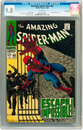 Silver Age (1956-1969):Superhero, The Amazing Spider-Man #65 Twin Cities pedigree (Marvel, 1968) CGC NM/MT 9.8 White pages....