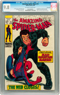 Silver Age (1956-1969):Superhero, The Amazing Spider-Man #73 Twin Cities pedigree (Marvel, 1969) CGC NM/MT 9.8 Off-white to white pages....