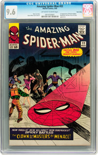 The Amazing Spider-Man #22 Twin Cities pedigree (Marvel, 1965) CGC NM+ 9.6 Off-white to white pages