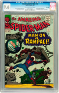 Silver Age (1956-1969):Superhero, The Amazing Spider-Man #32 Twin Cities pedigree (Marvel, 1966) CGC NM+ 9.6 Off-white to white pages....