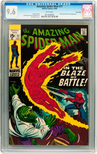 The Amazing Spider-Man #77 Twin Cities pedigree (Marvel, 1969) CGC NM+ 9.6 White pages
