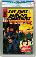 Silver Age (1956-1969):War, Sgt. Fury and His Howling Commandos #35 Twin Cities pedigree (Marvel, 1966) CGC NM/MT 9.8 White pages....