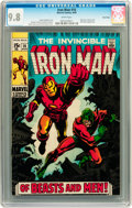 Silver Age (1956-1969):Superhero, Iron Man #16 Twin Cities pedigree (Marvel, 1969) CGC NM/MT 9.8 White pages....