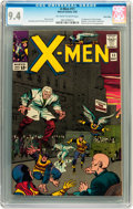 Silver Age (1956-1969):Superhero, X-Men #11 Twin Cities pedigree (Marvel, 1965) CGC NM 9.4 Off-white to white pages....