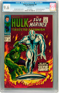 Silver Age (1956-1969):Superhero, Tales to Astonish #93 Twin Cities pedigree (Marvel, 1967) CGC NM+9.6 White pages....