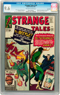 Silver Age (1956-1969):Superhero, Strange Tales #123 Twin Cities pedigree (Marvel, 1964) CGC NM+ 9.6 Off-white to white pages....