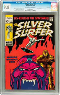 The Silver Surfer #6 Twin Cities pedigree (Marvel, 1969) CGC NM/MT 9.8 Off-white pages