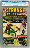 Silver Age (1956-1969):Superhero, Strange Tales #128 Twin Cities pedigree (Marvel, 1965) CGC NM+ 9.6 Off-white to white pages....