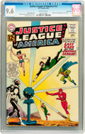 Silver Age (1956-1969):Superhero, Justice League of America #12 Twin Cities pedigree (DC, 1962) CGCNM+ 9.6 Off-white pages....