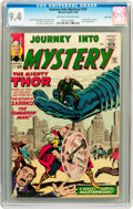 Silver Age (1956-1969):Science Fiction, Journey Into Mystery #101 Twin Cities pedigree (Marvel, 1964) CGCNM 9.4 Off-white to white pages....