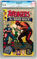 Silver Age (1956-1969):Superhero, The Avengers #22 Twin Cities pedigree (Marvel, 1965) CGC NM/MT 9.8 White pages....