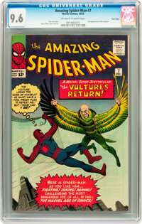 The Amazing Spider-Man #7 Twin Cities pedigree (Marvel, 1963) CGC NM+ 9.6 Off-white to white pages