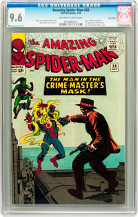 The Amazing Spider-Man #26 Twin Cities pedigree (Marvel, 1965) CGC NM+ 9.6 Off-white to white pages