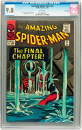Silver Age (1956-1969):Superhero, The Amazing Spider-Man #33 Twin Cities pedigree (Marvel, 1966) CGCNM/MT 9.8 White pages....