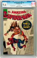 Silver Age (1956-1969):Superhero, The Amazing Spider-Man #34 Twin Cities pedigree (Marvel, 1966) CGCNM+ 9.6 White pages....