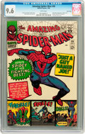 Silver Age (1956-1969):Superhero, The Amazing Spider-Man #38 Twin Cities pedigree (Marvel, 1966) CGC NM+ 9.6 White pages....