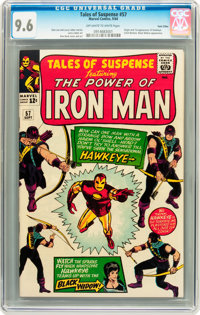 Tales of Suspense #57 Twin Cities pedigree (Marvel, 1964) CGC NM+ 9.6 Off-white to white pages