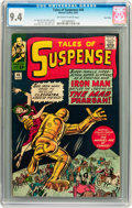 Silver Age (1956-1969):Superhero, Tales of Suspense #44 Twin Cities pedigree (Marvel, 1963) CGC NM9.4 Off-white to white pages....