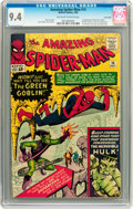 Silver Age (1956-1969):Superhero, The Amazing Spider-Man #14 Twin Cities pedigree (Marvel, 1964) CGC NM 9.4 Off-white to white pages....
