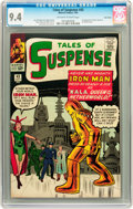 Silver Age (1956-1969):Superhero, Tales of Suspense #43 Twin Cities pedigree (Marvel, 1963) CGC NM9.4 Off-white to white pages....