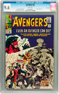 Silver Age (1956-1969):Superhero, The Avengers #14 Twin Cities pedigree (Marvel, 1965) CGC NM+ 9.6White pages....
