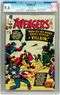 Silver Age (1956-1969):Superhero, The Avengers #15 Twin Cities pedigree (Marvel, 1965) CGC NM+ 9.6 White pages....
