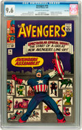 Silver Age (1956-1969):Superhero, The Avengers #16 Twin Cities pedigree (Marvel, 1965) CGC NM+ 9.6Off-white to white pages....