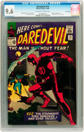 Silver Age (1956-1969):Superhero, Daredevil #10 Twin Cities pedigree (Marvel, 1965) CGC NM+ 9.6Off-white to white pages....