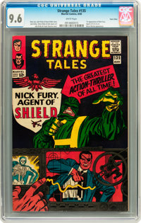Strange Tales #135 Twin Cities pedigree (Marvel, 1965) CGC NM+ 9.6 White pages