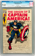 Silver Age (1956-1969):Superhero, Captain America #109 Twin Cities pedigree (Marvel, 1969) CGC NM/MT 9.8 White pages....