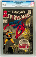 Silver Age (1956-1969):Superhero, The Amazing Spider-Man #46 Twin Cities pedigree (Marvel, 1967) CGCNM+ 9.6 Off-white to white pages....