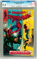 Silver Age (1956-1969):Superhero, The Amazing Spider-Man #59 Twin Cities pedigree (Marvel, 1968) CGCNM/MT 9.8 Off-white to white pages....
