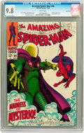 Silver Age (1956-1969):Superhero, The Amazing Spider-Man #66 Twin Cities pedigree (Marvel, 1968) CGC NM/MT 9.8 White pages....