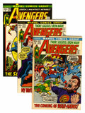 Modern Age (1980-Present):Superhero, The Avengers Group (Marvel, 1972-74) Condition: Average NM-....(Total: 7 Comic Books)