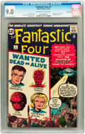 Silver Age (1956-1969):Superhero, Fantastic Four #7 Twin Cities pedigree (Marvel, 1962) CGC VF/NM 9.0 Off-white to white pages....