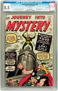 Silver Age (1956-1969):Superhero, Journey Into Mystery #85 Twin Cities pedigree (Marvel, 1962) CGCVF+ 8.5 White pages....