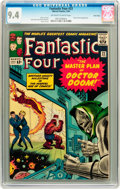 Silver Age (1956-1969):Superhero, Fantastic Four #23 Twin Cities pedigree (Marvel, 1964) CGC NM 9.4Off-white to white pages....