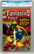 Silver Age (1956-1969):Superhero, Fantastic Four #40 Twin Cities pedigree (Marvel, 1965) CGC NM+ 9.6White pages....