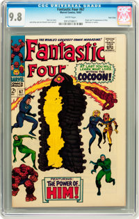 Fantastic Four #67 Twin Cities pedigree (Marvel, 1967) CGC NM/MT 9.8 White pages