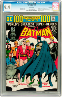 Batman #238 Twin Cities pedigree (DC, 1972) CGC NM 9.4 White pages