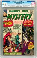 Silver Age (1956-1969):Superhero, Journey Into Mystery #99 Twin Cities pedigree (Marvel, 1963) CGCNM+ 9.6 White pages....