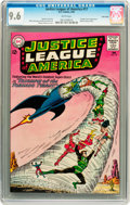 Silver Age (1956-1969):Superhero, Justice League of America #17 Twin Cities pedigree (DC, 1963) CGC NM+ 9.6 White pages....