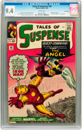 Silver Age (1956-1969):Superhero, Tales of Suspense #49 Twin Cities pedigree (Marvel, 1964) CGC NM 9.4 White pages....