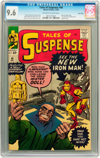 Tales of Suspense #48 Twin Cities pedigree (Marvel, 1963) CGC NM+ 9.6 Off-white to white pages