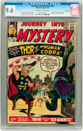 Silver Age (1956-1969):Superhero, Journey Into Mystery #98 Twin Cities pedigree (Marvel, 1963) CGCNM+ 9.6 Off-white to white pages....