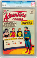 Silver Age (1956-1969):Superhero, Adventure Comics #247 Twin Cities pedigree (DC, 1958) CGC FN+ 6.5Off-white to white pages....