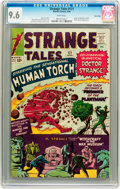Silver Age (1956-1969):Superhero, Strange Tales #121 Twin Cities pedigree (Marvel, 1964) CGC NM+ 9.6White pages....
