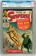 Silver Age (1956-1969):Superhero, Tales of Suspense #47 Twin Cities pedigree (Marvel, 1963) CGC NM9.4 Off-white to white pages....